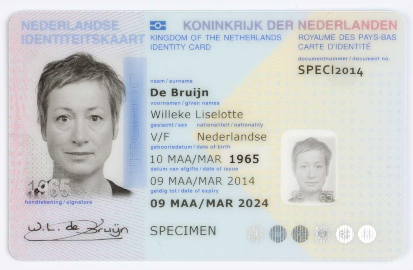 Dutch Identity Card – Wikipedia Intended For French Id Card Template