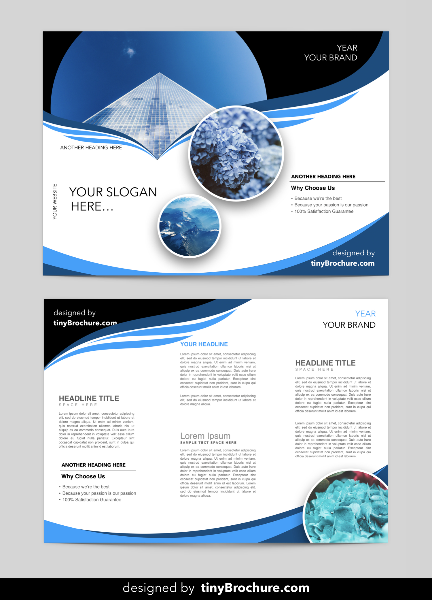 Editable Brochure Template Word Free Download | Brochure In Brochure Templates For Word 2007