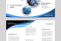 Editable Brochure Template Word Free Download | Brochure with Word Catalogue Template