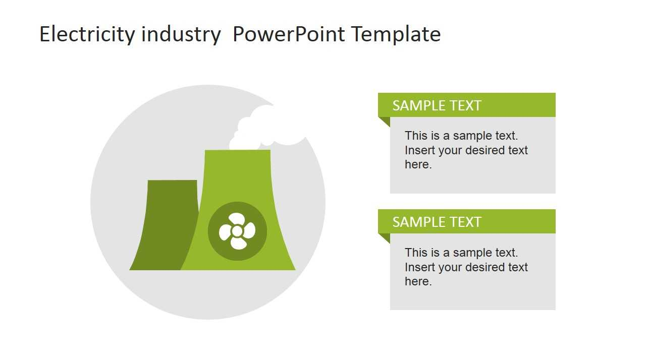 Electricity Industry Powerpoint Template - Slidemodel For Nuclear Powerpoint Template