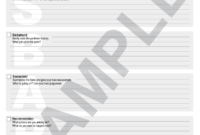 Example Of Filled Sbar Form – Fill Online, Printable for Sbar Template Word