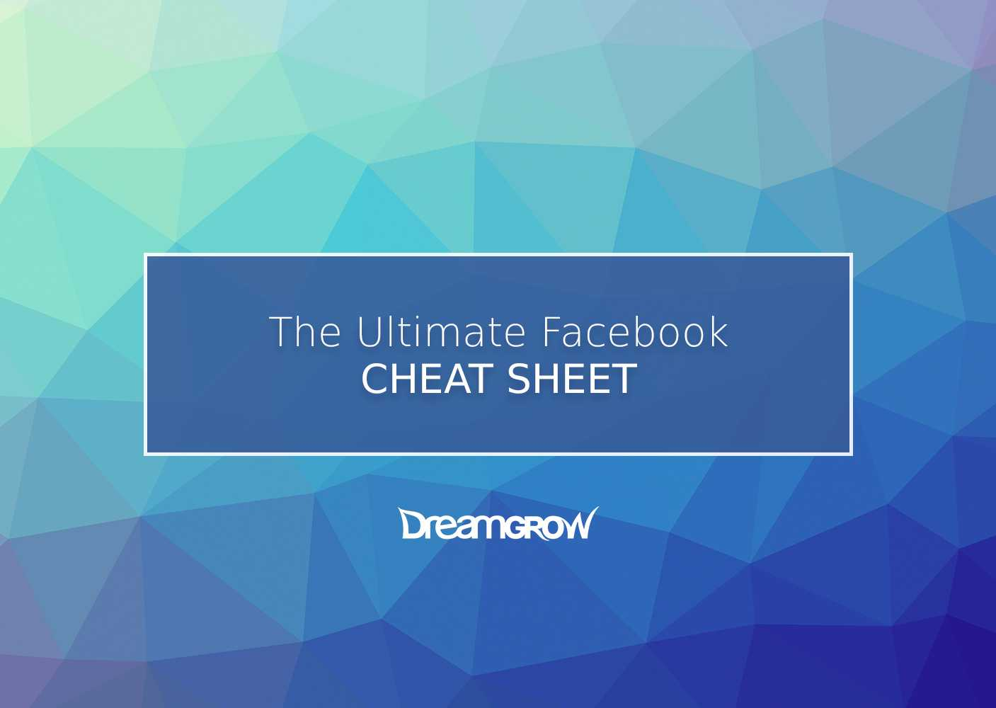 Facebook Cheat Sheet: All Sizes, Dimensions, And Templates For Photoshop Facebook Banner Template