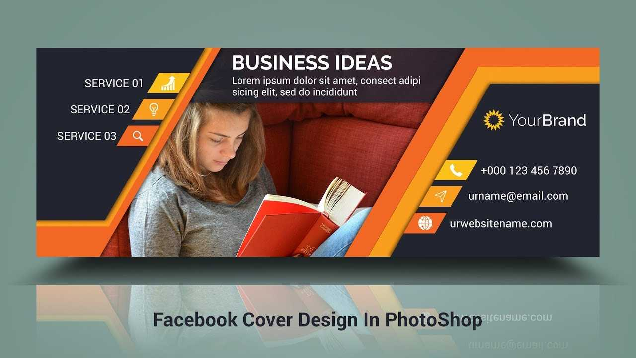 Facebook Cover Photo Design | In Photoshop Cc Hindi / Urdu Tutorial For Photoshop Facebook Banner Template