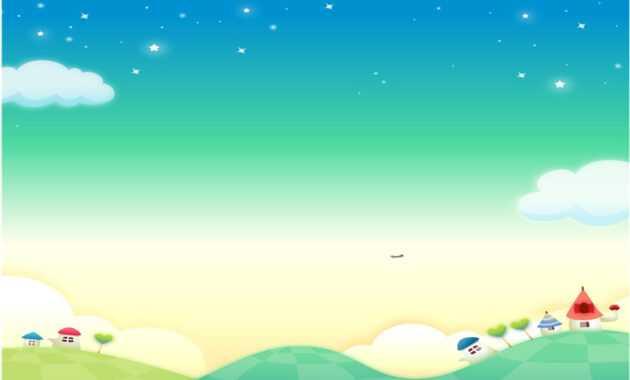 Fairy Tale Mood Powerpoint Backgrounds_Best Powerpoint with regard to Fairy Tale Powerpoint Template