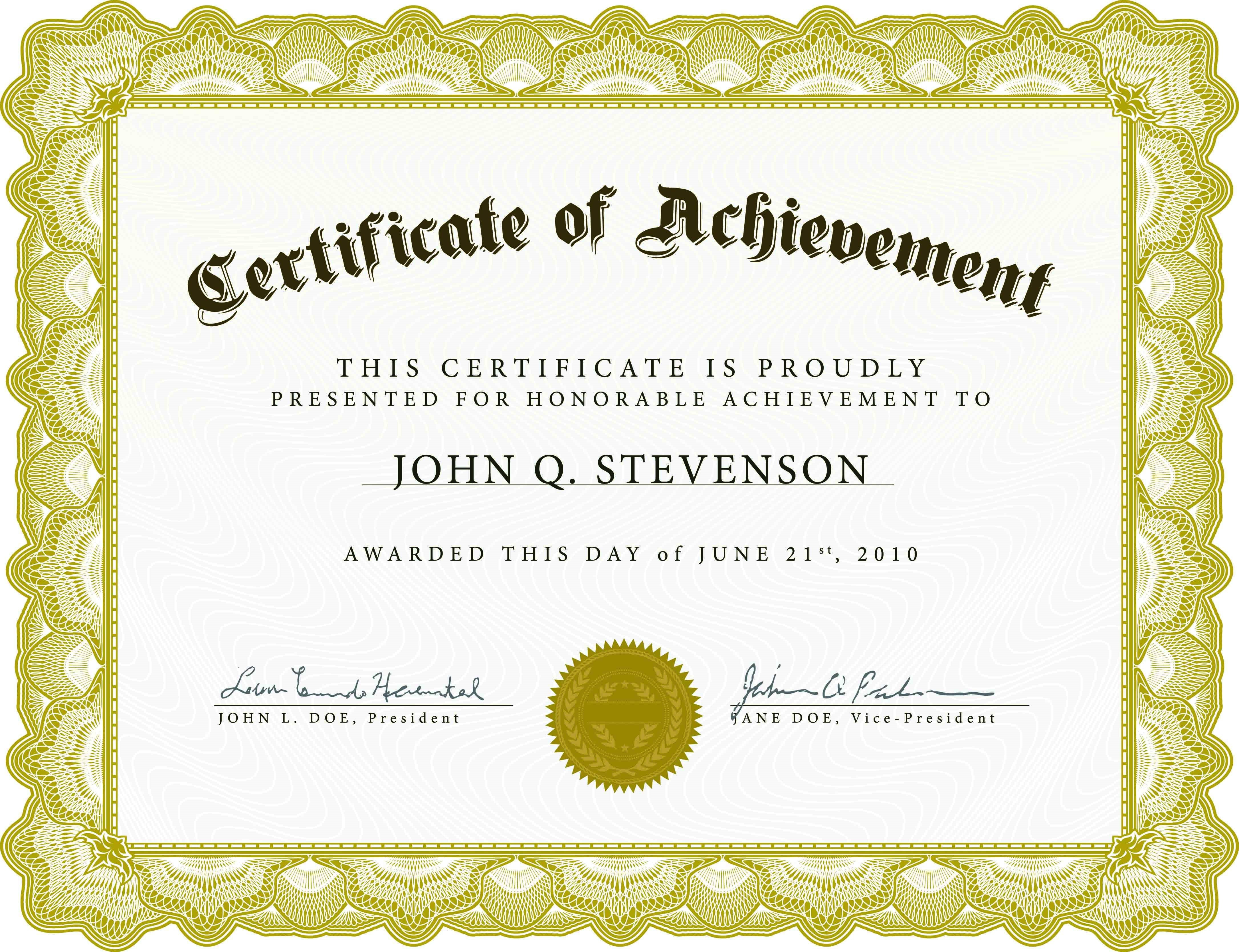Farewell Certificate Template Archives - 10+ Professional Inside Farewell Certificate Template