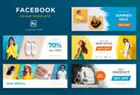 Fashion Facebook Cover Template Psd – 5 Social Media Banner inside Facebook Banner Template Psd