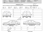 Fearsome Vehicle Condition Report Template Ideas Example for Car Damage Report Template