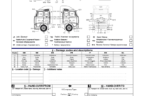 Fillable Online Vehicle Condition Report Volvo Logistics A B with Truck Condition Report Template