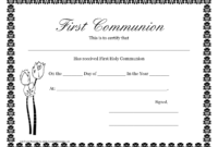 First Communion Banner Templates   Printable First Communion pertaining to First Communion Banner Templates