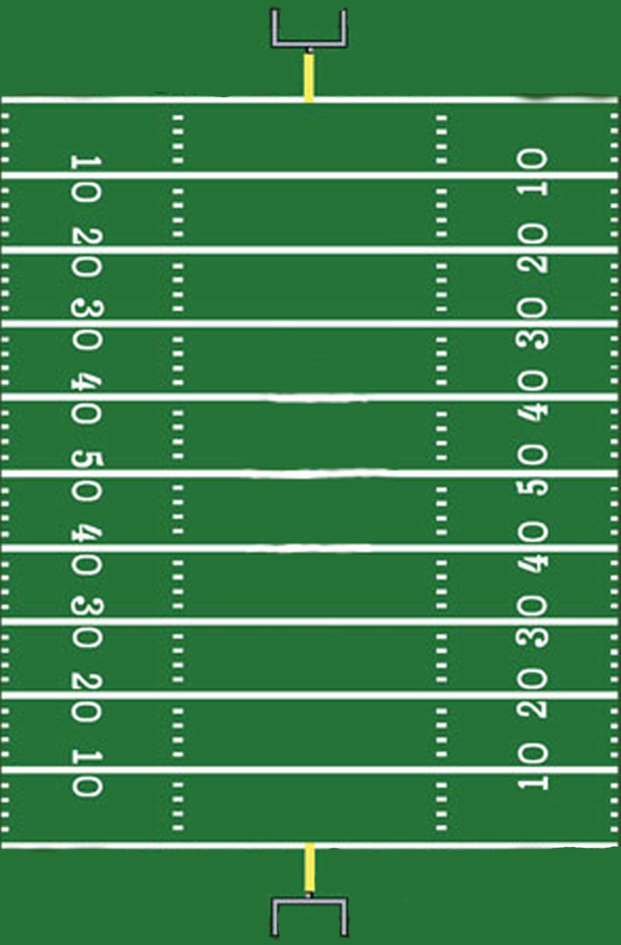 Football Field Template Printable | Rich's Den | Football Intended For Blank Football Field Template