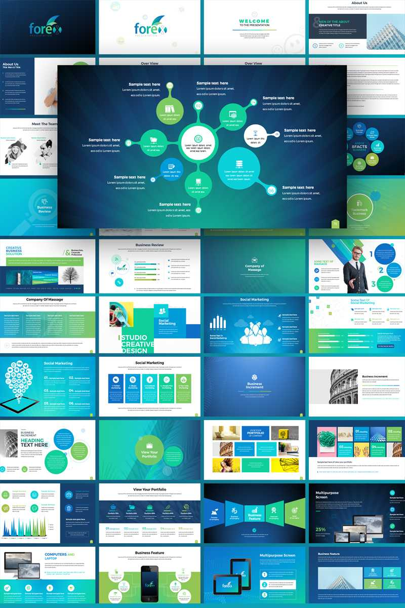 Forex – Multipurpose Infographic Powerpoint Template For Multimedia Powerpoint Templates