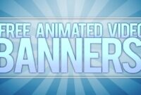 **free** Animated Video Banner Template! [Adobe After Effects] in Animated Banner Template