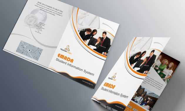 Free Bi-Fold Brochure Psd On Behance within Two Fold Brochure Template Psd