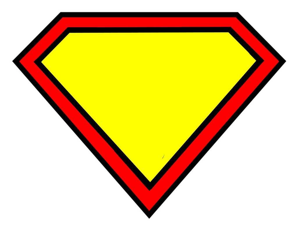 Free Blank Superman Logo, Download Free Clip Art, Free Clip In Blank Superman Logo Template