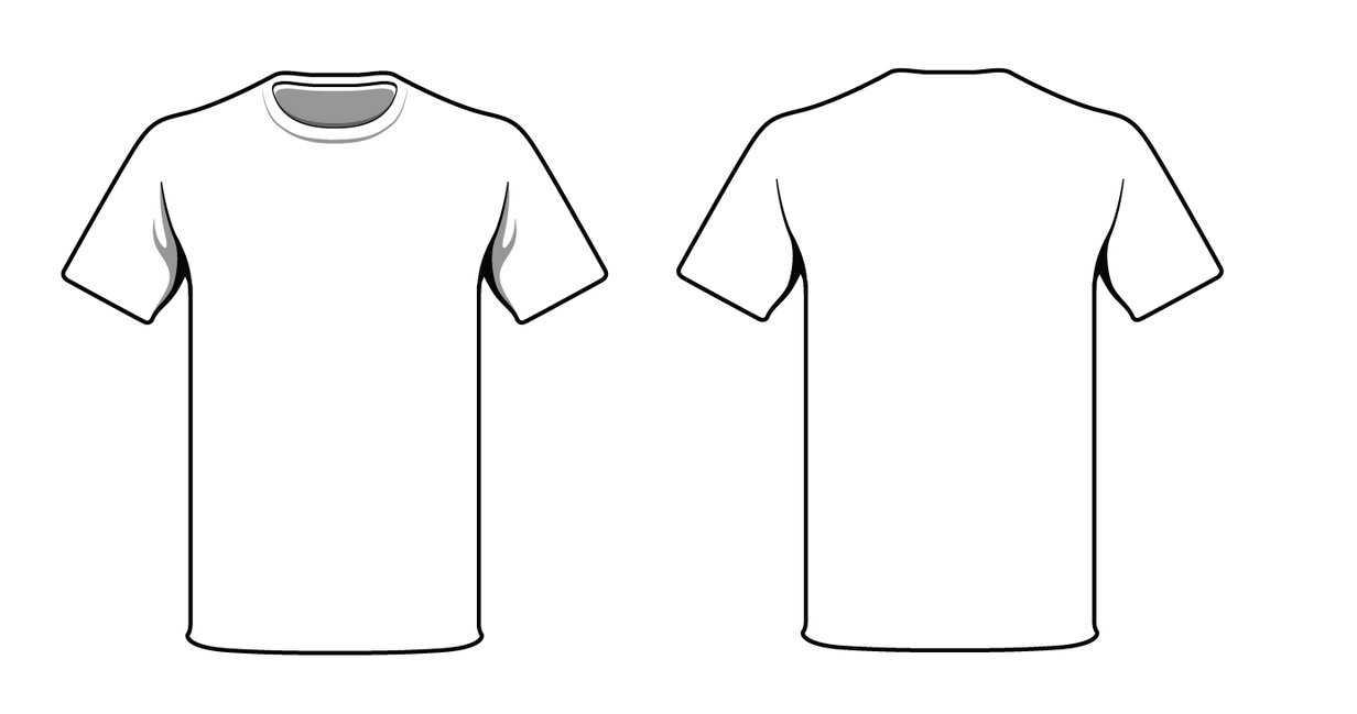 Free Blank Tshirt, Download Free Clip Art, Free Clip Art On Regarding Blank Tshirt Template Pdf