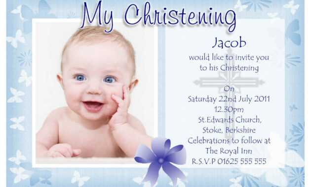 Free Christening Invitation Templates | Baptism Invitations with regard to Baptism Invitation Card Template