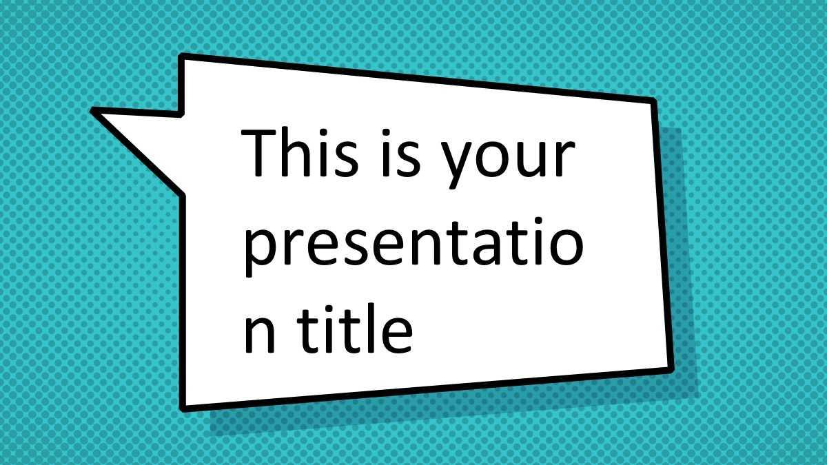 Free Comic Book Powerpoint Template – Superhero Ppt Design Within Powerpoint Comic Template