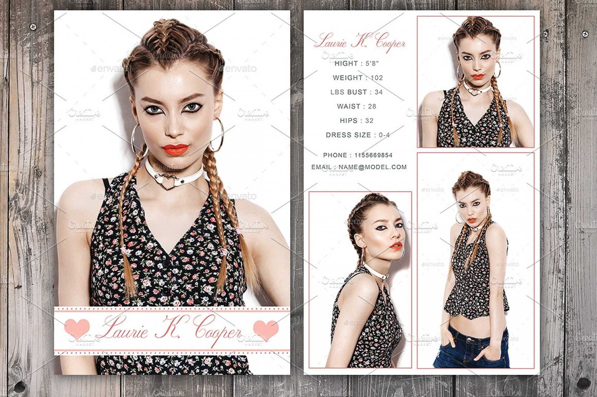 Free Comp Card Template Brochure Templates Microsoft Word For Comp Card Template Download
