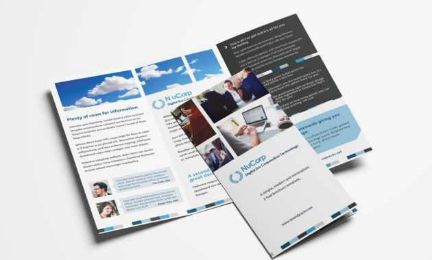 Free Corporate Trifold Brochure Template In Psd, Ai & Vector within Adobe Illustrator Tri Fold Brochure Template