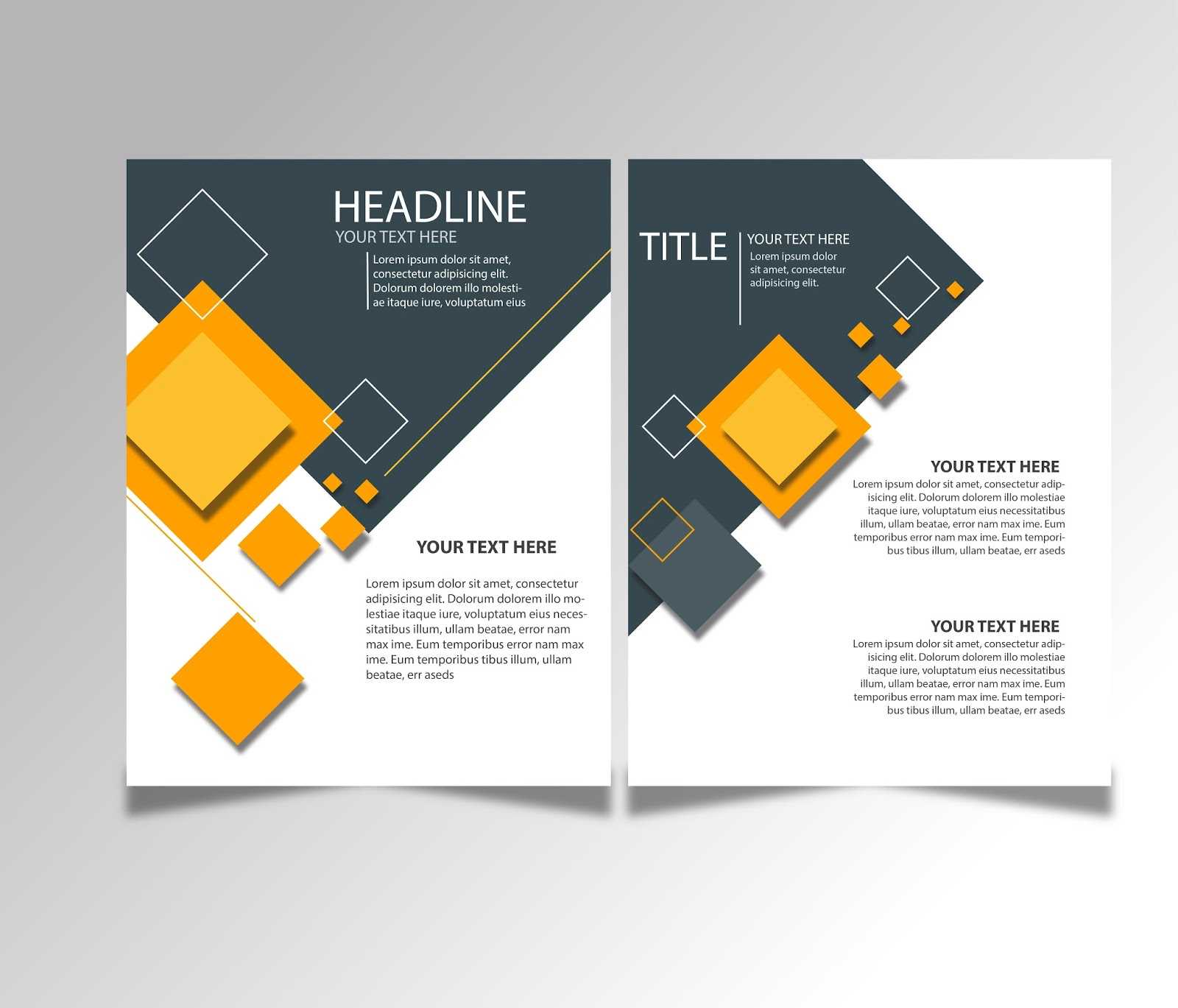 Free Download Brochure Design Templates Ai Files - Ideosprocess Intended For Creative Brochure Templates Free Download