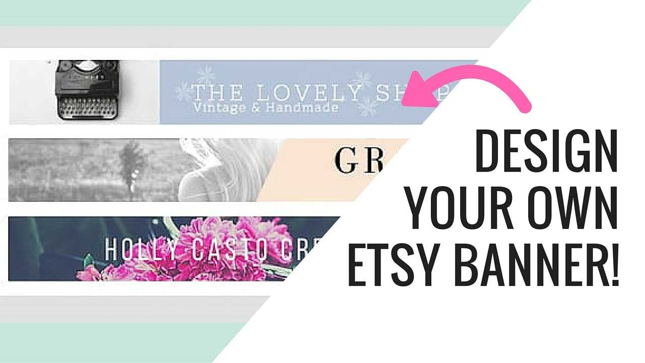 Free Etsy Banner Maker And Easy Tutorial Using Canva Intended For Free Etsy Banner Template