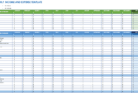 Free Expense Report Templates Smartsheet throughout Monthly Expense Report Template Excel