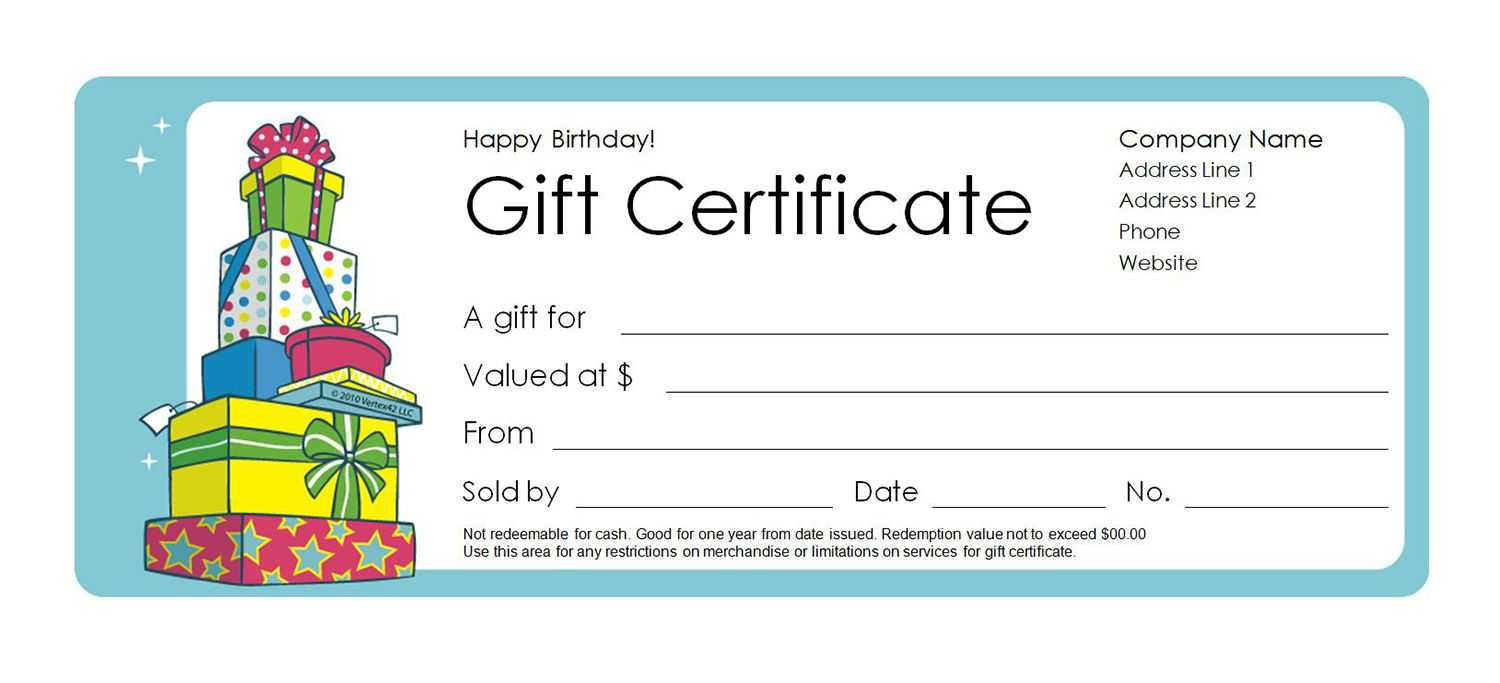 Free Gift Certificate Templates You Can Customize Regarding Kids Gift Certificate Template
