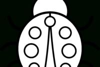 Free Ladybug Outline, Download Free Clip Art, Free Clip Art regarding Blank Ladybug Template