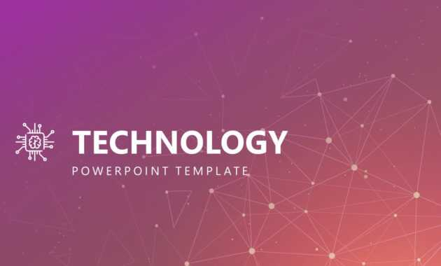 Free Modern Technology Powerpoint Template with Powerpoint Templates For Technology Presentations
