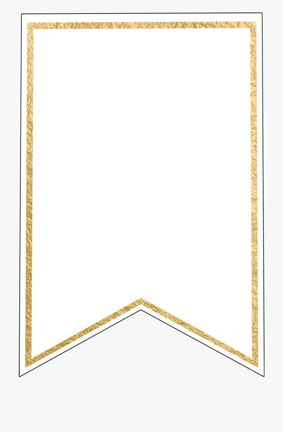 Free Pennant Banner Template, Download Free Clip Art, - Gold In Printable Pennant Banner Template Free