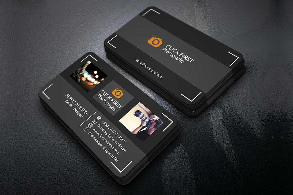Free Photography Business Card Template – Creativetacos With Regard To Free Business Card Templates For Photographers