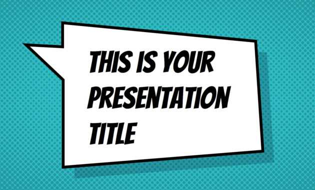 Free Powerpoint Template Or Google Slides Theme With regarding Powerpoint Comic Template