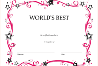 Free Printable Award Certificate Long Service Template For regarding Free Printable Student Of The Month Certificate Templates