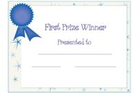 Free Printable Award Certificate Template | Free Printable with regard to Generic Certificate Template