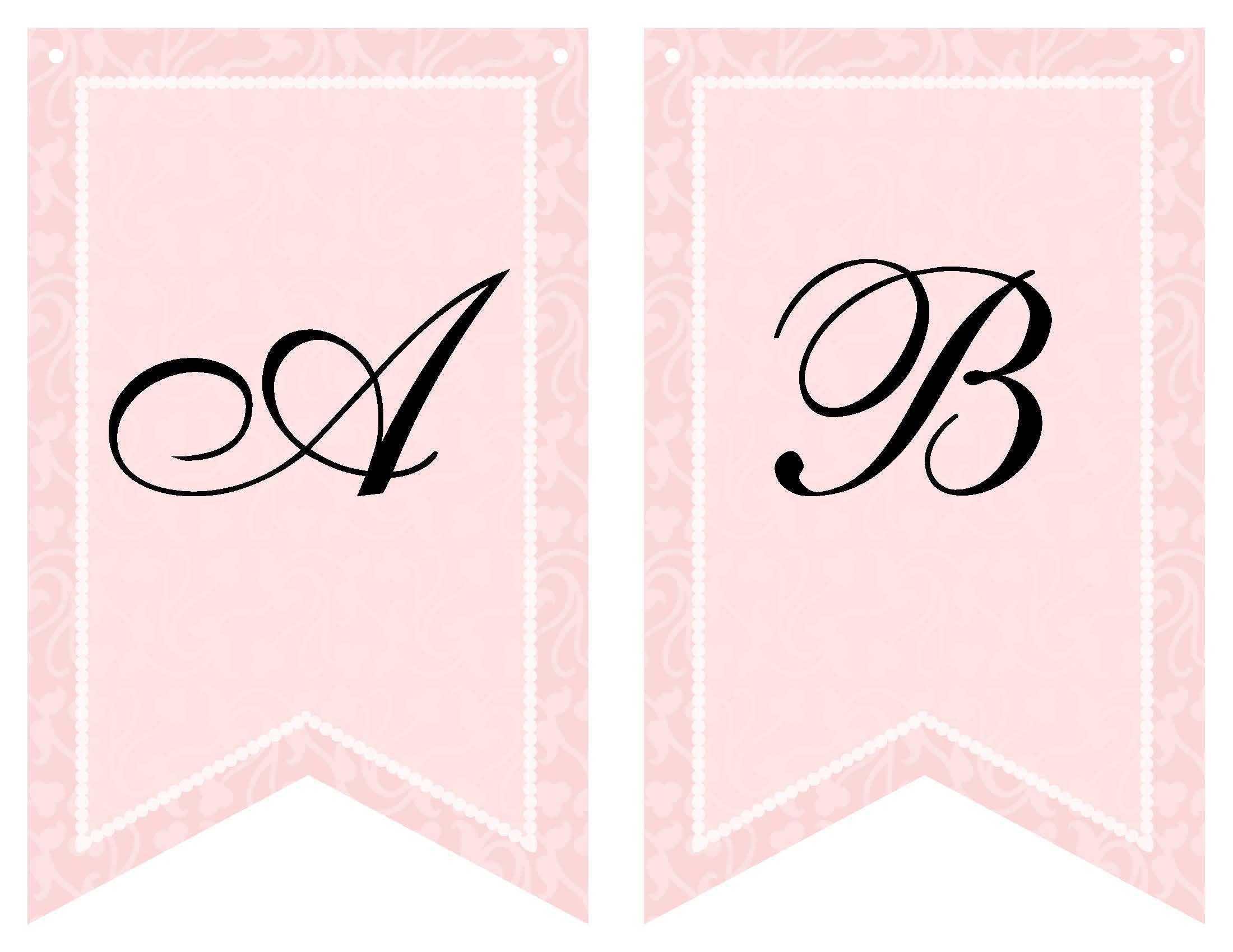 Free Printable Bridal Shower Banner | Vow Renewal | Bridal Regarding Bride To Be Banner Template