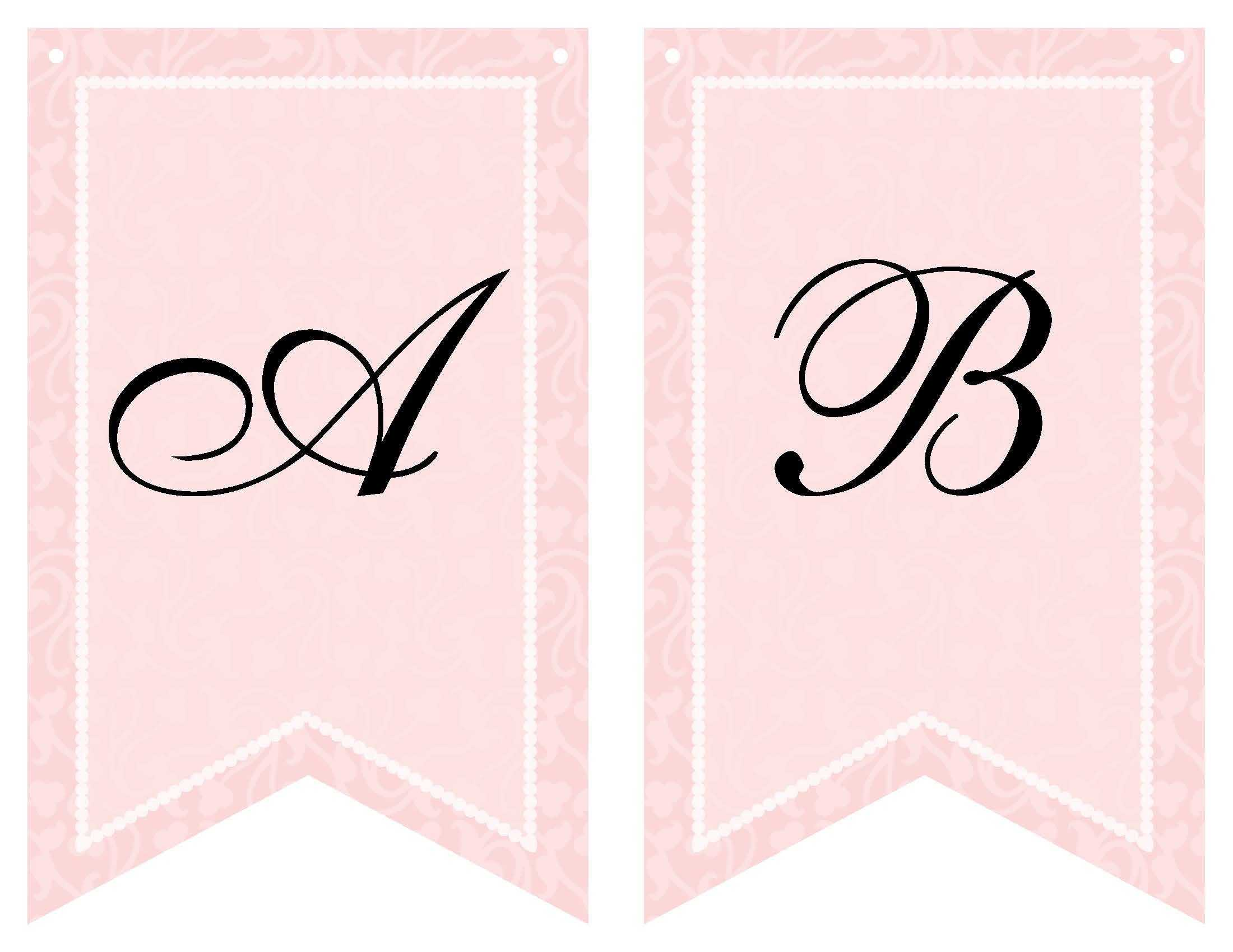 Free Printable Bridal Shower Banner | Vow Renewal | Bridal With Regard To Free Bridal Shower Banner Template
