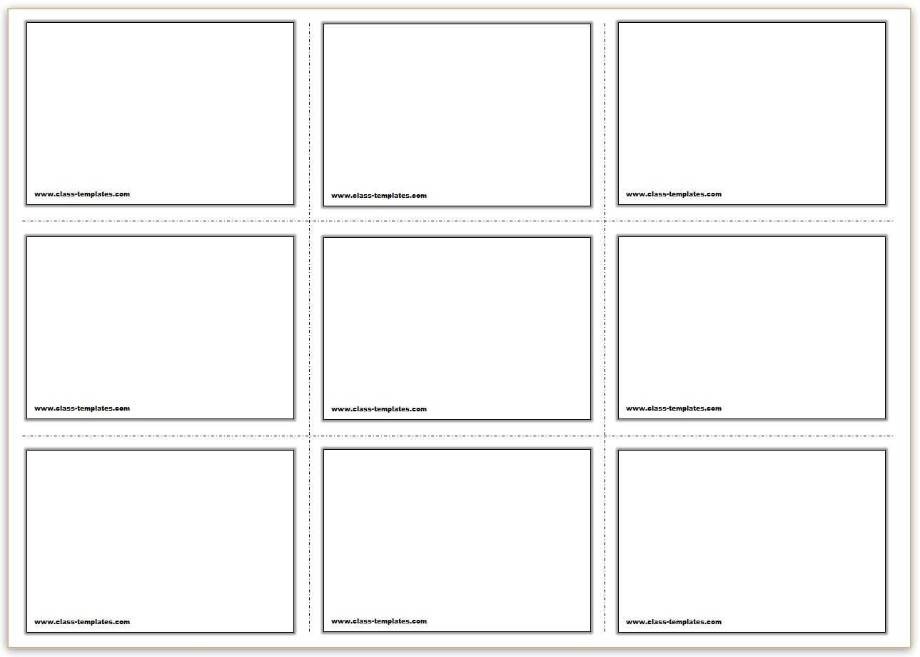 Free Printable Flash Cards Template In Queue Cards Template