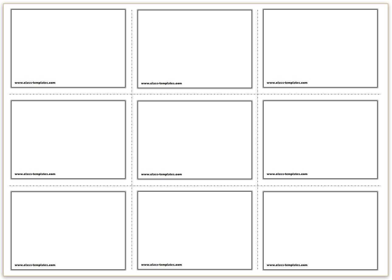 Free Printable Flash Cards Template Regarding Free Printable Blank Flash Cards Template