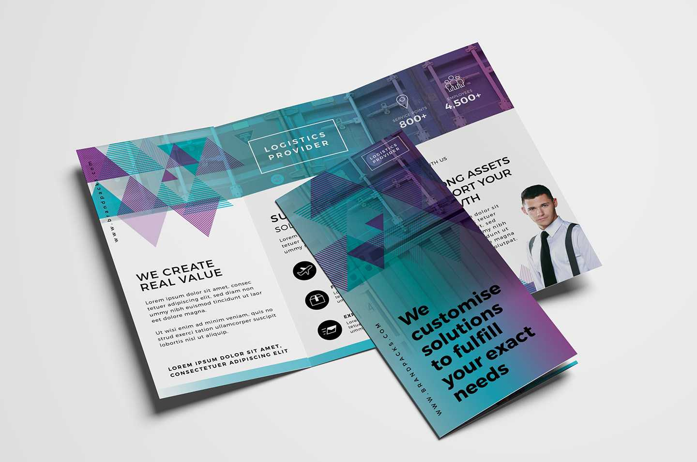 Free Trifold Brochure Template Vol.2 In Psd, Ai & Vector For 2 Fold Brochure Template Free