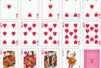 Free Vector Poker 03 Vector | 21St Birthday | Cards, Playing inside Planning Poker Cards Template