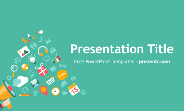Free Viral Campaign Powerpoint Template - Prezentr regarding Virus Powerpoint Template Free Download