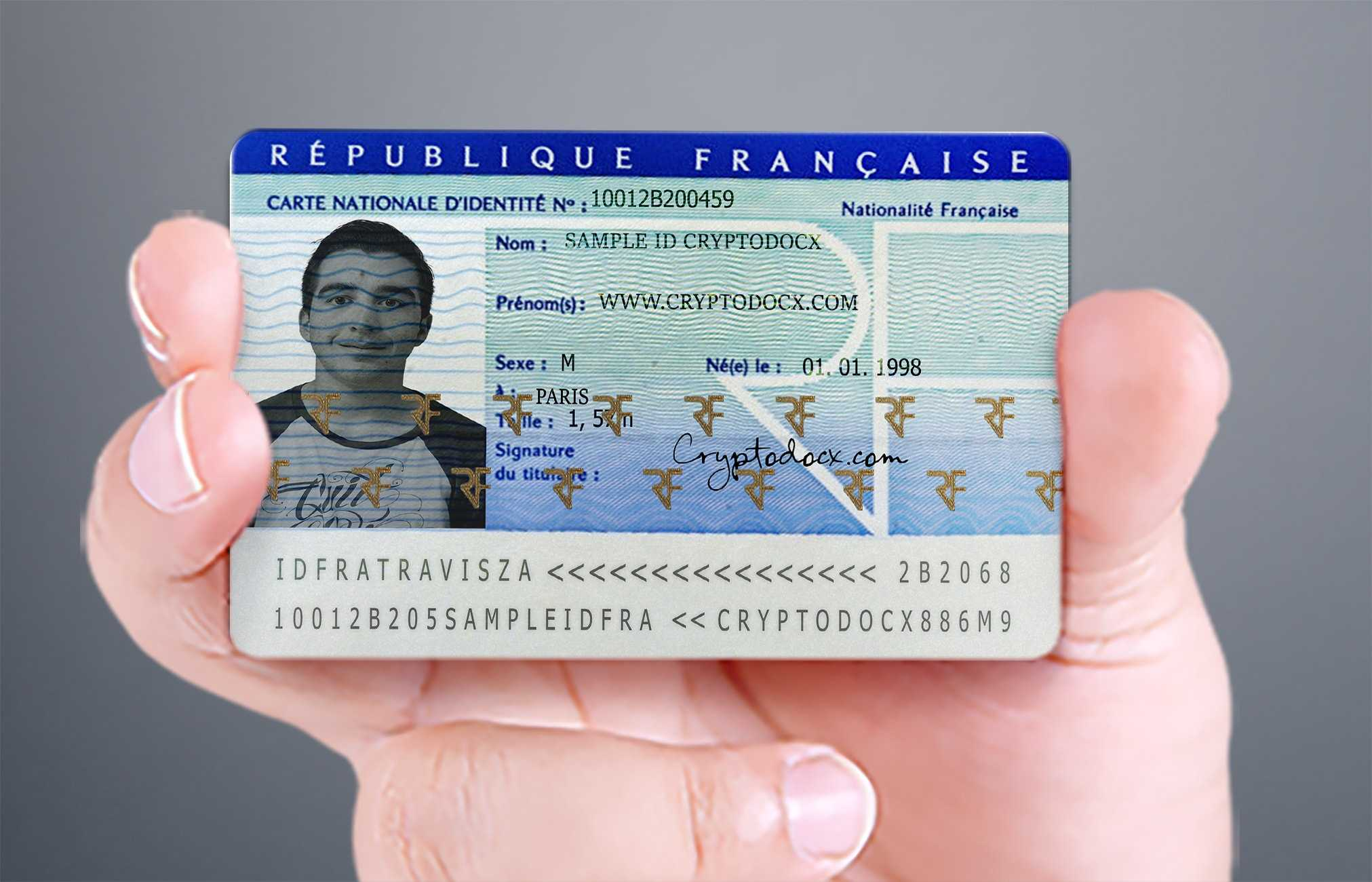 French Id Card | Real French Id Card | French Identity Card Regarding French Id Card Template