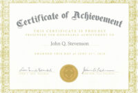 Fresh Army Certificate Achievement Template Example Mughals with regard to Certificate Of Achievement Army Template