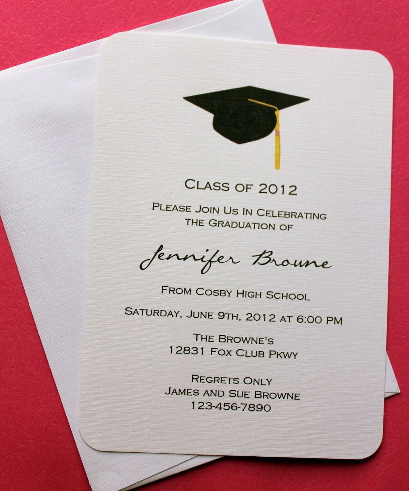 Graduation Invitation Templates Microsoft Word | Graduation Intended For Graduation Invitation Templates Microsoft Word