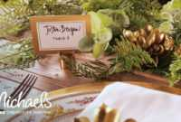 Handlettering For Place Cards | David Tutera | Michaels within Michaels Place Card Template