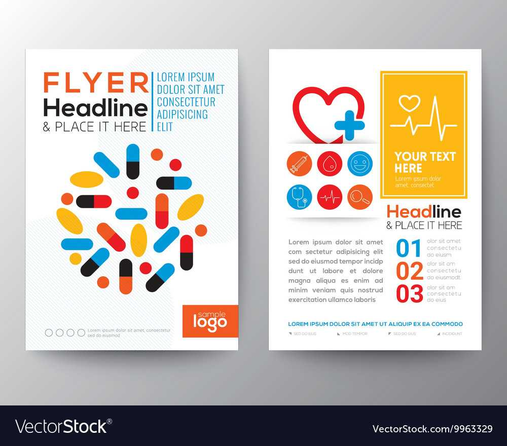 Health Care And Medical Poster Brochure Flyer In Healthcare Brochure Templates Free Download
