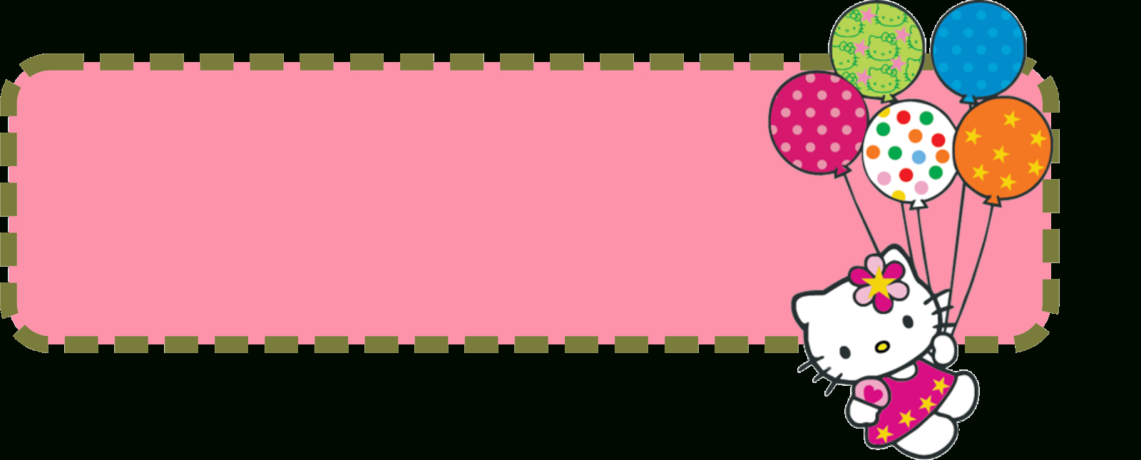 Hello Kitty Banner Template | Banner And Forum Templates within Hello Kitty Banner Template