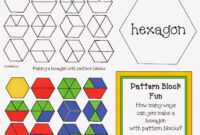 Hexagon Pattern Block Game | Classroom Freebies! | Pattern with regard to Blank Pattern Block Templates