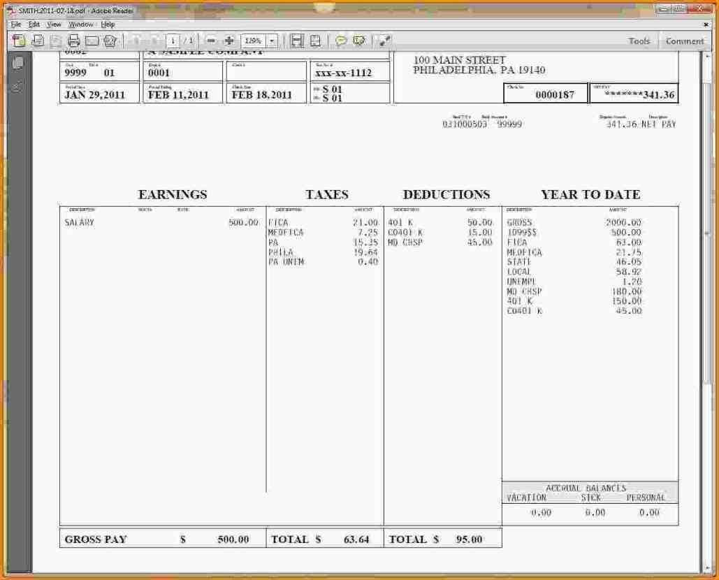 Hourly Wage Then Log Download Pay Stub Template Word Free With Regard To Free Pay Stub Template Word
