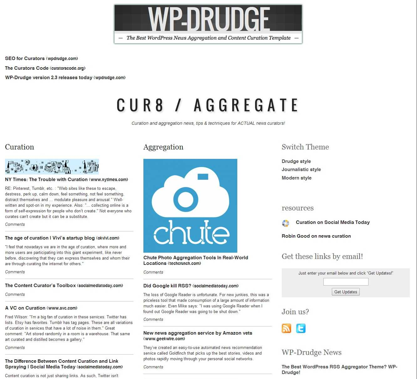 How To Create A Drudge Report Clone Using Wp Drudge - Wp Mayor Intended For Drudge Report Template